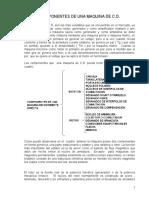 Unidad I.- Componentes y Aspectos de Construcción de Una Maquina de CD