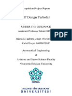 Off Design Turbofan  Project Report