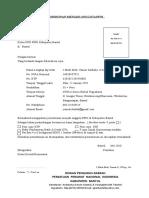 1. Format Usulan Anggota Pembuatan KTA