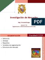 Segmentación y Posicionamiento de investigacion de mercados