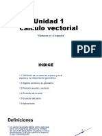 Calculo Vectorial Unidad 1
