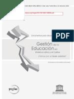 Gestion Educacion en ALC