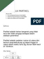 Ppt Steril (Uji Partikel)