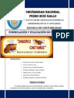 Proyecto Sabores Chotanos