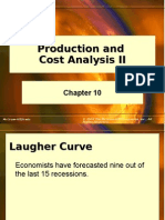 Chap010 Long Run Production and Costs Analysis