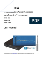 Dirac Series - DDRC-22 User Manual