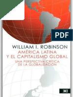 L — America Latina y El Capitalismo Global — Robinson