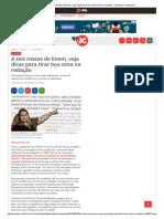 A Seis Meses Do Enem, Veja Dicas Para Tirar Boa Nota Na Redação - Jornal Do Commercio