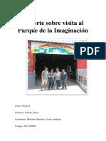 Reporte Sobre Visita Al Parque de La Imaginaciónx2