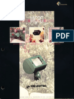 Kim Lighting Micro Flood Brochure 1996