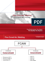 Lincoln Electric - Proceso FCAW
