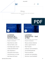Blog Lambida