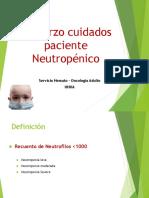 Refuerzo Cuidados Paciente Neutropénico