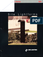 Kim Lighting Site Lightforms Brochure 1988