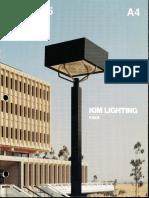 Kim Lighting Type 5 Brochure 1981