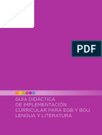 Guia 15 Mayo Literatura Elemental EGB BGU