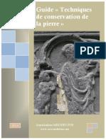 Techniques de Conservation de La Pierre