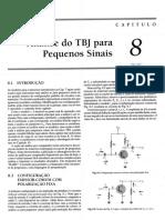 MATERIAL 2 - Capítulo 08.pdf - Análise do TJB para pequenos sinais.pdf