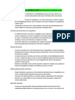 Las Cinco Fuerzas Competitivas - Michael Porter (Resumen)