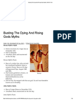 Busting the Dying and Rising Gods Myths _ With All I Am