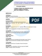 Programa General Asamblea Febrero 2017