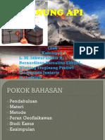 Mitigasi Bencana Alam Gunung API