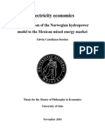Norwegian Hydropower Model to Mexican industry