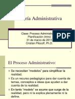 Teor a Administrativa Clase Planificaci n I