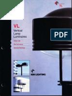 Kim Lighting VL Vertical Lamp Brochure 1995