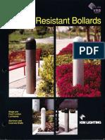 Kim Lighting VRB Series Vandal Resistant Bollard Brochure 1993