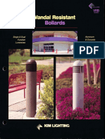 Kim Lighting VRB Series Vandal Resistant Bollard Brochure 1996