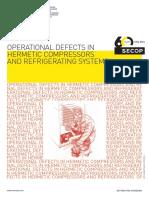 DANFOSS SECOP DEFECTOS OPERATIVOS EN COMPRESORES HERMÉTICOS Y SISTEMAS REFRIGERANTES