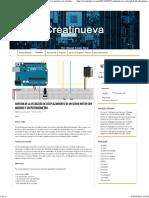 Controlar La Velocidad de Desplazamiento de Un Servo Motor Con Arduino y Un Potenciómetro _ Creatinueva