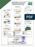 Calendario DGETA 2017-2018