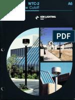 Kim Lighting WTC Wide Throw Cutoff Brochure 1987