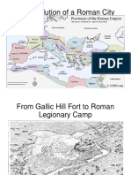 The Evolution of a Roman City to Middle Ages