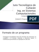 Unidad II Programación Basica