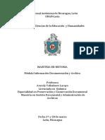 Informacion Documentacion y Archivo