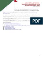 Zerto Virtual Replication 6.0 AWS Enterprise Guidelines