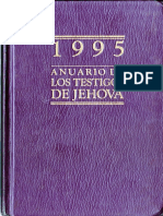Anuario de Los Testigos de Jehová 1995