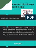 Características del ejercicio en Cardiología.pptx