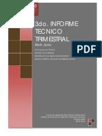 3° Informe Trimestral de Avance
