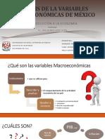 Análisis de La Variables Macroeconómicas de México