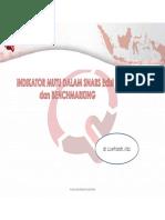 Luwi - Indikator Mutu Dalam SNARS Edisi 1 & Benchmarking Data
