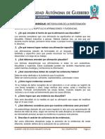 Guía de Lectura Cap. 4. de Las Preguntas a Los Problemas