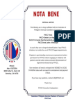 FPACC Nota Bene or Special Notice about Filipino American Chambers of Commerce not affiliated with Federation