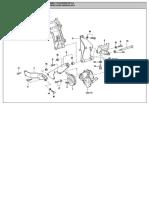 Polea, Correa y Fijacion de La Bomba de Direccion Hidraulica - AP