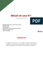 Metodo de caso ventiladores