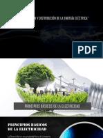 Generación, Transmisión y Distribución de La Energía Eléctrica