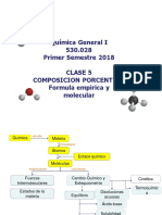 Clase 5a- Formula Empirica y Molecular